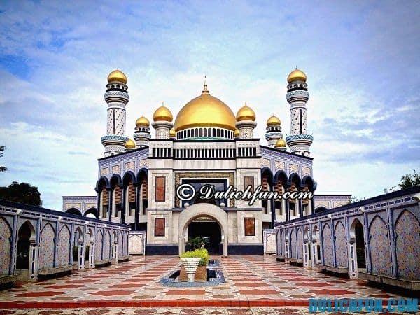 Kinh nghiệm du lịch Brunei tự túc, tiết kiệm: Du lịch Brunei đi đâu chơi, hết bao nhiêu tiền và ăn món gì?