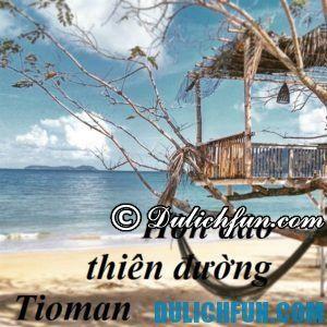 Kinh nghiệm du lịch Đảo Tioman, Malaysia đẹp, độc, lạ