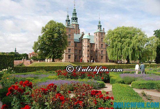 Hướng dẫn tour du lịch Copenhagen giá rẻ, chi tiết: Đi đâu chơi gì khi du lịch Copenhagen? Lâu đài Rosenborg, địa điểm tham quan, du lịch nổi tiếng nhất ở Copenhagen