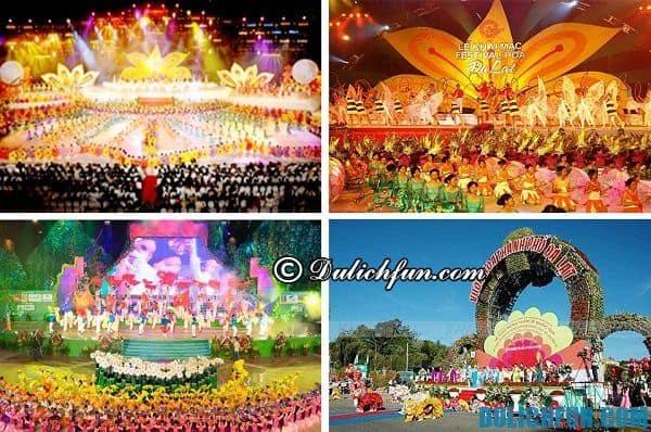 Festival hoa Đà Lạt - Lễ hội hấp dẫn nhất ở Đà Lạt: Các lễ hội văn hóa đặc sắc, ấn tượng ở Đà Lạt