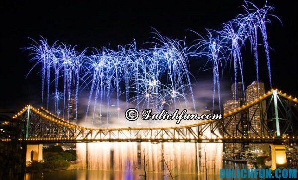Mùa lễ hội ở Brisbane, địa điểm du lịch nổi bật ở Brisbane, địa điểm du lịch đẹp không thể bỏ qua ở Brisbane