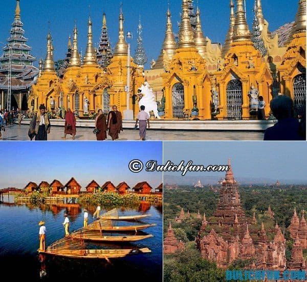 Địa bàn hoạt động của xe bus ở Myanmar. Du lịch Myanmar bằng xe bus