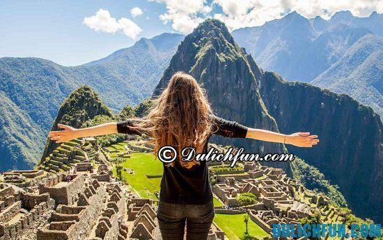 Tư vấn lịch trình tham quan, du lịch, vui chơi, ngắm cảnh đẹp ở Peru: Nên đi đâu khi du lịch Peru? Machu Picchu, địa điểm tham quan, du lịch nổi tiếng ở Peru