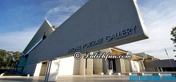 National Portrait Gallery ở Canberra. Địa điểm du lịch đẹp, nổi tiếng ở Canberra, địa điểm tham quan nổi tiếng nhất ở Canberra