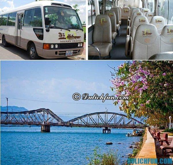 Tới Kampot bằng cách nào? Cách thức di chuyển tới Kampot/Phương tiện đến Kampot. Kinh nghiệm du lịch bụi, phượt Kampot