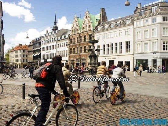 Xe đạp, phương tiện đi lại ở Copenhagen: Du lịch Copenhagen hết bao nhiêu tiền và chi phí hết bao nhiêu?