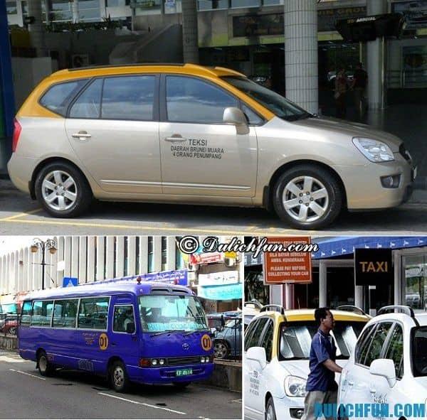Các phương tiện giao thông ở Brunei. Hướng dẫn lịch trình vui chơi, tham quan du lịch Brunei