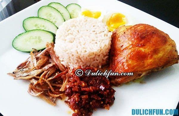 Địa chỉ ăn uống hấp dẫn ở Brunei: Nhà hàng, quán ăn ngon giá rẻ ở Brunei