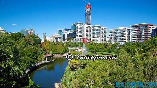 Roma Street, địa điểm du lịch đẹp nhất ở Brisbane, địa điểm vui chơi đẹp, nổi tiếng ở Brisbane