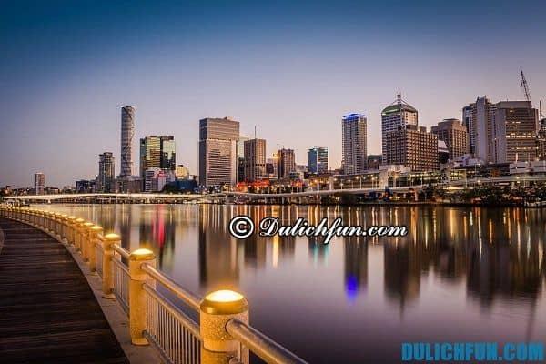 Thành phố Brisbane, thành phố ở châu Úc, thành phố du lịch nổi tiếng ở Úc