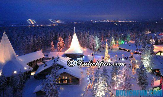 Tour du lịch Phần Lan giá rẻ: Du lịch Phần Lan có gì thú vị? Thành phố Lapland, địa điểm tham quan, du lịch nổi tiếng nhất ở Phần Lan
