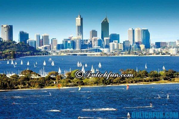 Thành phố Perth thành phố đẹp, nổi tiếng ở châu Úc: Nước Úc có thành phố nào du lịch đẹp, nhiều điểm du lịch hấp dẫn