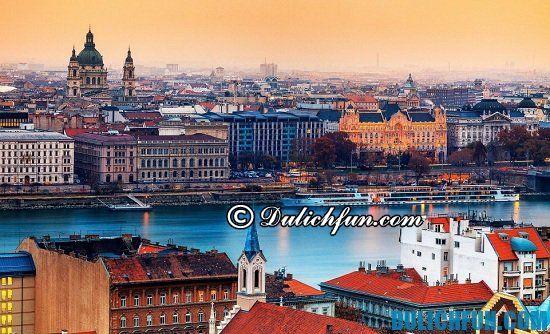 Du lịch Hungary mùa nào đẹp nhất? Thời điểm thích hợp nên đi du lịch Hungary