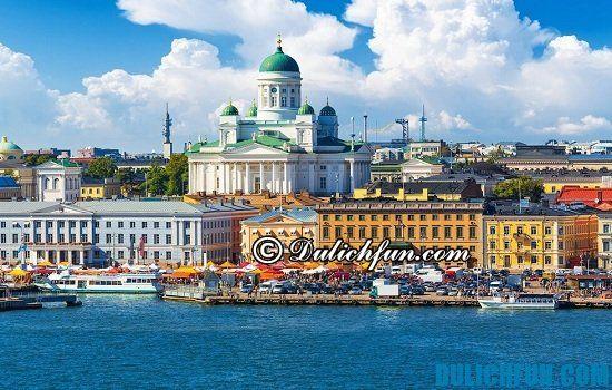 Kinh nghiệm du lịch Phần Lan: Đi đâu, chơi gì khi du lịch Phần Lan? Thủ đô Helsinki, địa điểm tham quan, du lịch nổi tiếng nhất ở Phần Lan