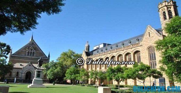 Trung tâm rượu vang ở Adelaide, những địa điểm du lịch nổi tiếng ở Adelaide. Địa điểm tham quan thú vị ở Adelaide