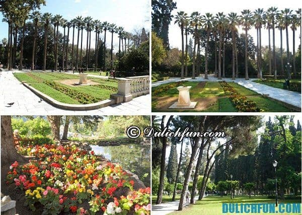 Vườn quốc gia ở Athens, địa điểm du lịch nổi tiếng ở Athens, địa điểm du lịch hấp dẫn ở Athens