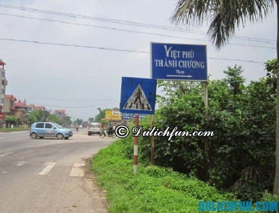 Hướng dẫn du lịch Việt Phủ Thành Chương chi tiết: Đường đi Việt Phủ Thành Chương như thế nào? Hướng dẫn chi tiết đường đi du lịch Việt Phủ Thành Chương