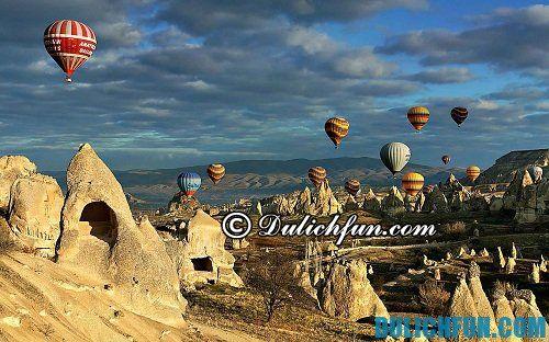 Kinh nghiệm du lịch Cappadocia chi tiết: Du lịch Cappadocia vào thời gian nào đẹp nhất?