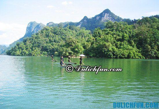 Hồ Ba Bể, địa điểm tham quan, du lịch nổi tiếng nhất ở Bắc Kạn: Đi chơi đâu khi đến Bắc Kạn du lịch?