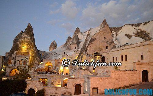 Tư vấn tour du lịch Cappadocia giá rẻ: Tổng hợp những địa chỉ khách sạn chất lượng, giá rẻ ở Cappadocia