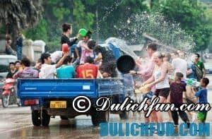 Lễ hội té nước ở Campuchia
