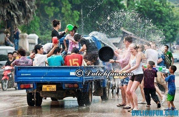 Lễ hội té nước ở Campuchia tổ chức ngày nào? Ở đâu?