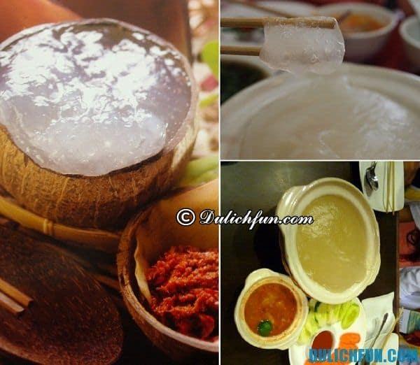 Món ăn truyền thống hấp dẫn ở Brunei: Món ăn ngon nổi tiếng ở Brunei
