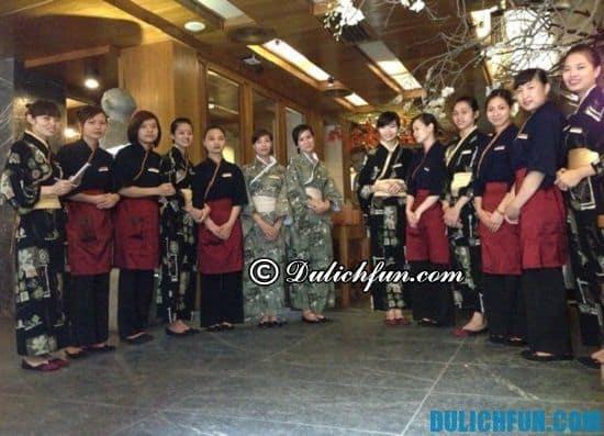 Khám phá các quán ăn Nhật ở Hà Nội? Nhà hàng Shinbashi, địa chỉ nhà hàng món ăn Nhật ngon nhất ở Hà Nội