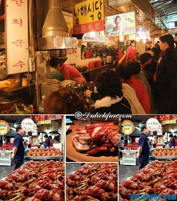 Địa chỉ ăn uống về đêm đông đúc ở Seoul, Hàn Quốc: Những con phố ẩm thực buổi tối ở Seoul