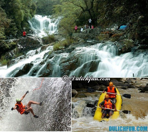 Thác nước nổi tiếng nhất ở Đà Lạt: Đà Lạt có những thác nước nào độc đáo, hấp dẫn