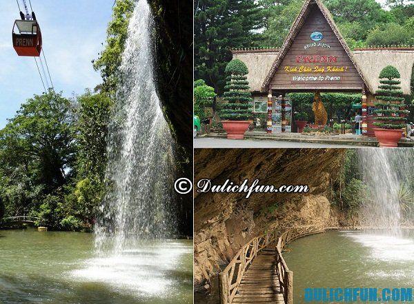 Du lịch ở Đà Lạt, các thác nước nên tới thăm ở Đà Lạt đẹp, hùng vĩ, nổi tiếng