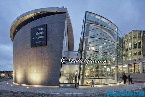 Các bảo tàng ở Amsterdam, những địa điểm du lịch nổi tiếng ở Amsterdam, nơi vui chơi, ngắm cảnh đẹp ở Amsterdam