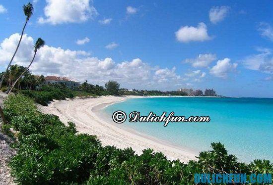 Đi đâu, chơi gì khi du lịch Bahamas? Bờ biển Cabbage, địa điểm tham quan, du lịch nổi tiếng ở Bahamas