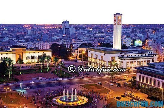 Đi đâu, chơi gì khi du lịch Maroc? Thủ đô Casablanca, địa điểm du lịch nổi tiếng ở Maroc