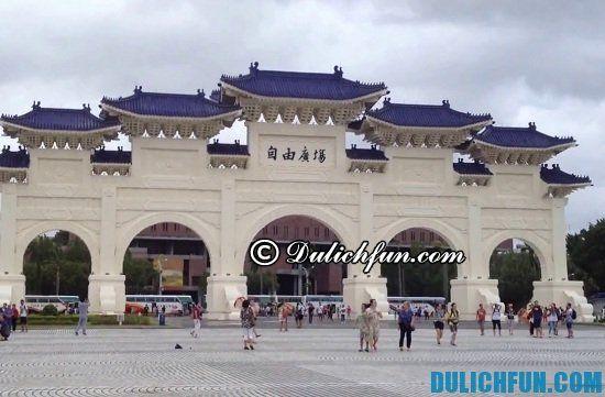 Kinh nghiệm du lịch Taipei - Đài Bắc: Đi đâu, chơi gì khi du lịch Đài Bắc (Taipei)? Chiang Kai-Shek, địa điểm tham quan, du lịch nổi tiếng nhất ở Đài Bắc (Taipei)