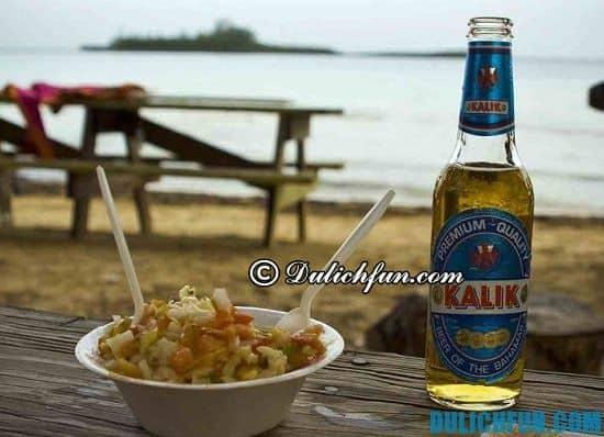 Kinh nghiệm vui chơi, ăn uống, mua sắm ở Bahamas: Ăn gì khi du lịch Bahamas? Món Conch, món ăn ngon, đặc sản hấp dẫn ở Bahamas