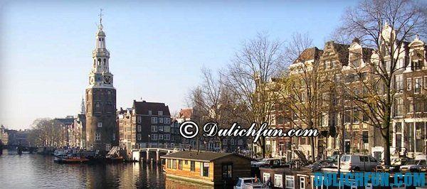 Điểm du lịch nổi bật ở Amsterdam, những địa điểm du lịch thú vị, hấp dẫn ở Amsterdam