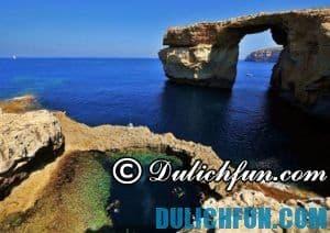 Chia sẻ kinh nghiệm du lịch Malta, quốc đảo đẹp nhất Châu Âu