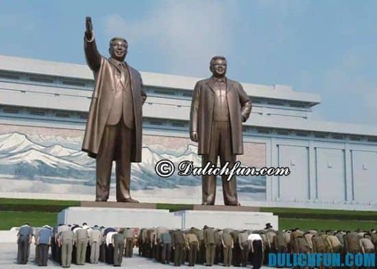 Chia sẻ kinh nghiệm du lịch Triều Tiên tự túc. Thông tin và kinh nghiệm du lịch Triều Tiên an toàn, thuận lợi