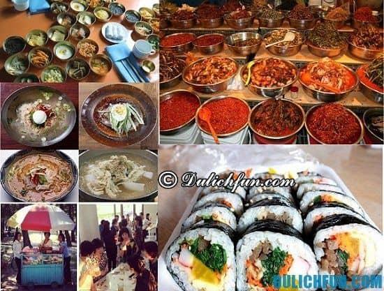 Ăn gì khi du lịch Triều Tiên? Những món ăn ngon, đặc sản hấp dẫn, nổi tiếng ở Triều Tiên