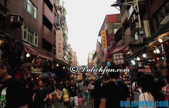 Kinh nghiệm du lịch Đài Bắc giá rẻ: Du lịch Đài Bắc nên mua gì làm quà? Phố cổ Đạm Thủy, địa điểm mua sắm nổi tiếng ở Taipei