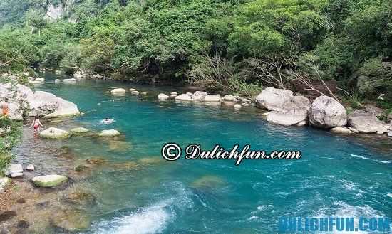 Hướng dẫn du lịch suối nước Moọc: Du lịch suối nước Moọc vào thời gian nào? Thời điểm lý tưởng nên du lịch suối nước Moọc