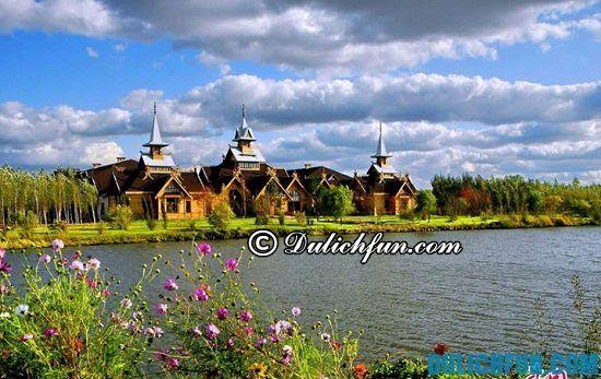 Hướng dẫn tour du lịch Cáp Nhĩ Tân giá rẻ, tự túc: Đi đâu, chơi gì khi du lịch Cáp Nhĩ Tân? Khu nghỉ mát Volga Manor, địa điểm tham quan, du lịch hấp dẫn ở Cáp Nhĩ Tân