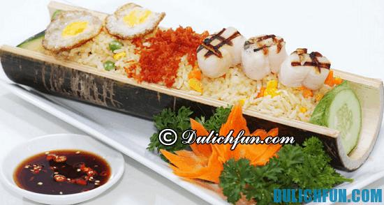 Ăn gì khi du lịch Quế Lâm? Cơm ống tre, món ăn ngon, nổi tiếng ở Quế Lâm