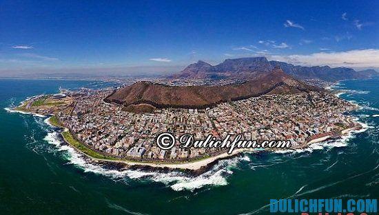 Tổng hợp kinh nghiệm du lịch Nam Phi vui vẻ, hấp dẫn. Hướng dẫn du lịch Nam Phi tự túc, thuận lợi