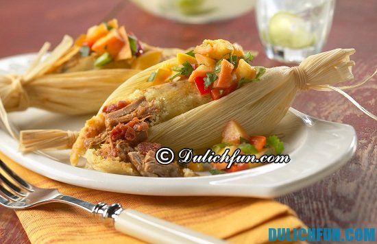 Ăn gì khi du lịch Panama? Món Tamale, món ăn ngon, đặc sản nổi tiếng ở Panama