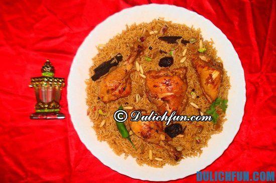 Ăn gì khi du lịch Oman? Khám phá những món ăn ngon, đặc sản nổi tiếng ở Oman