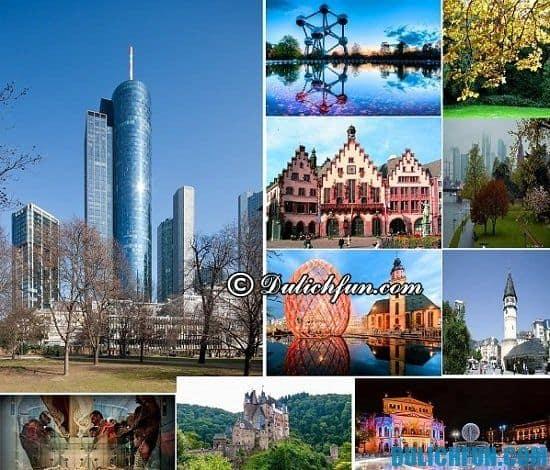 Du lịch Frankfurt có gì thú vị? Khám phá các địa điểm tham quan, du lịch đẹp, nổi tiếng ở Frankfurt