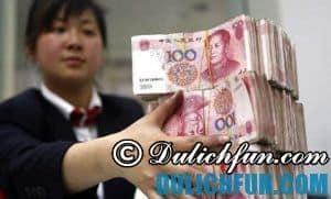 Hướng dẫn & kinh nghiệm đổi tiền Trung Quốc đi du lịch