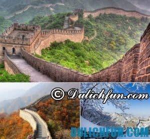 Kinh nghiệm du lịch Vạn Lý Trường Thành giá rẻ, suôn sẻ